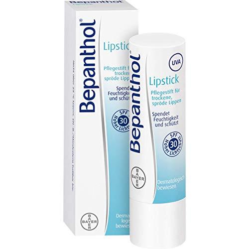 Bepanthol Lipstick: Feuchtigkeitsspendender Pflegestift für trockene, spröde Lippen, 4,5 g