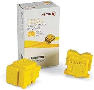 قلم حبر أصفر أصلي من زيروكس 108R00928 / 108R928 من أجل فيزر 8570 (2 قطعة/صندوق)