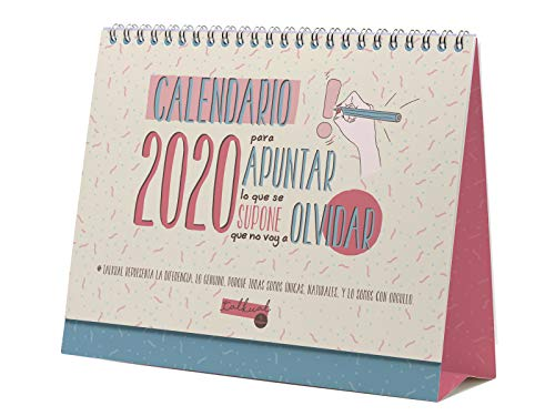 Finocam Talkual, Calendario, 1, Multicolor