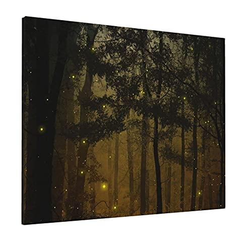 JIANSHAN Pintura al óleo de fantasía para decoración de pared, dormitorio, sala de estar, oficina, 40,6 x 50,8 cm (sin marco)