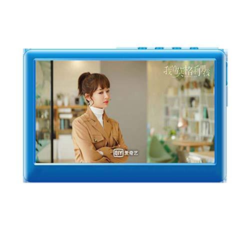 GsMeety Lettore Musicale MP3, 8GB MP3 Player con 150 Ore Tempo di Gioco, Portatile Digital Music Player/Video Player/E-Book Reader, Fino a 64GB,Blu