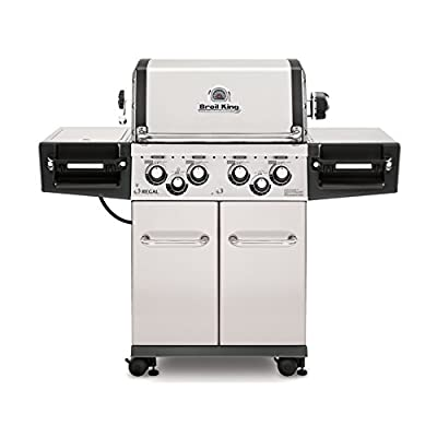 Broil King Regal S490 Pro- Stainless Steel - 4 Burner Propane Gas Grill