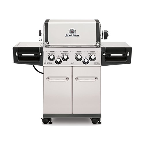 Broil King Regal S490 Pro- Stainless Steel - 4 Burner Propane Gas Grill a Grills Portable Products Propane Service with