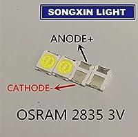 100pcs For LED Backlight 1.5W 3V 1210 3528 2835 131LM Cool white For LED LCD Backlight TV Application LED LCD TV Backlight