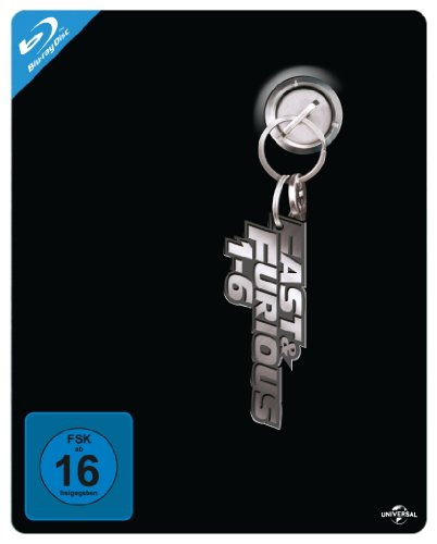 Fast & Furious 1-6 Steelbook Box  (Limitiert) [Blu-ray]
