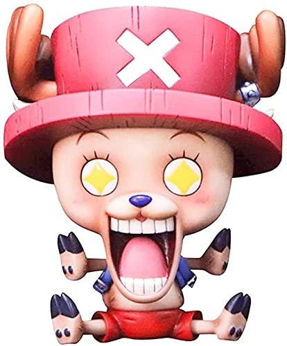 ZAKRLYB One Piece Tony Tony Chopper Star Ojos Figura Anime Cartoon Personaje de Dibujos Animados Muñecas Modelo Estatua Juguete Decoración de Decoración Fans Colecciones Regalos Decoración de Oficina