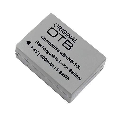 Batería para Canon PowerShot SX60 HS (Li-Ion)