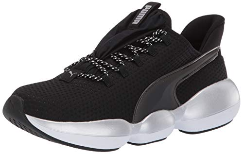 PUMA Women's Mode XT Sneaker, Black Whit, 8 M US