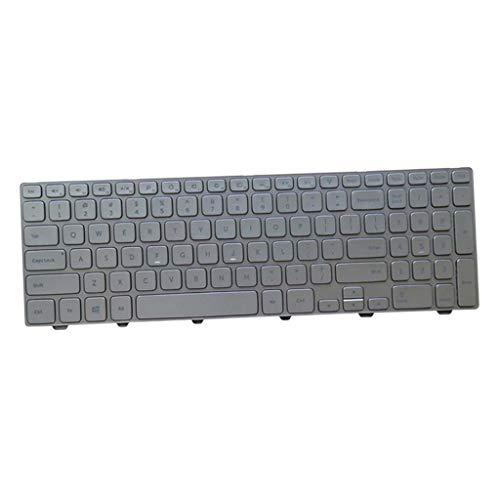 Ronyme Teclados de Laptop de Substituição US QWERTY para Dell Inspiron 15 7537 7000 Series