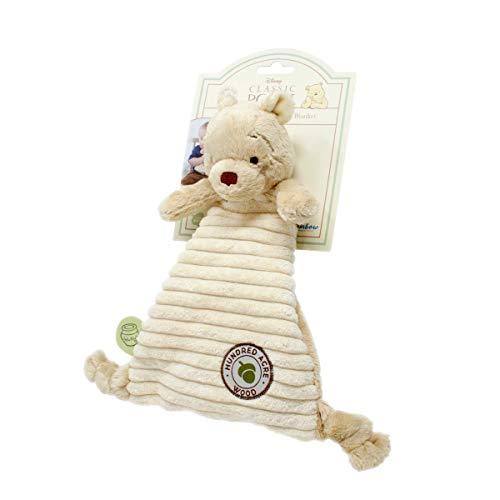 Winnie the Pooh RBD-TOY44 Regenbogen-Designs hundert Morgen Holz - Baby-Komfort-Decke, transparent, 200 g, Einheitsgröße