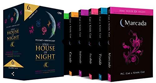 Box House of Night - Slim: Coleção completa v.1 (livros 1 a 6)