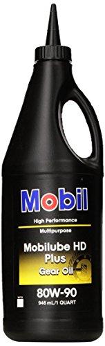 Mobilube HD Plus 80w90, Gear Oil, 1 qt.