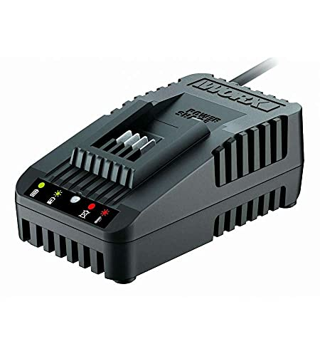 Worx WA3880 Akku Ladestation für Powershare Akkus – Akku Schnell-Ladegerät Universal für 20V Akkus