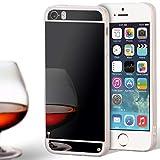 United Case Espejo TPU para Apple iPhone 5 / 5s / SE Espejo   Funda De Silicona Brillante