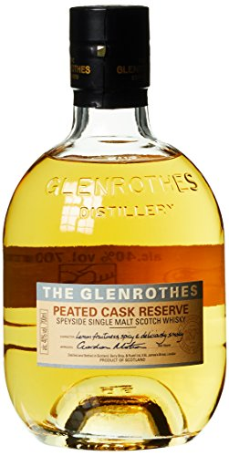 The Glenrothes Peated Cask Reserve Whisky mit Geschenkverpackung (1 x 0.7 l)