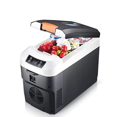 GG-home Tragbarer Insulinkühler Kühlbox Mini-Kühlschrank 10ltr schwarz - Abschließbar - Leise Laufende Tischplatte Mini Bar