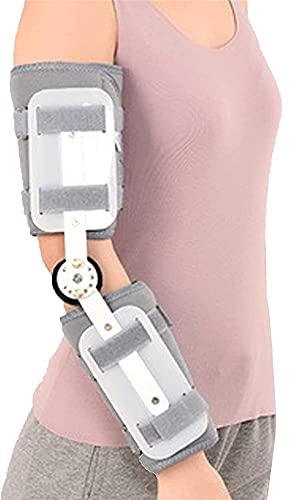 Frauen Männer angelenkte Ellenbogenstütze für dislozierte Arm Verstellbare post op elbolow stabilizer schiene arm verletzung wiederherstellung von stabilität nach chirurgisch chirurgie erholung ligame