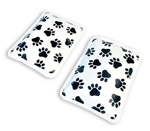 Scaldamani riutilizzabili istantaneamente, cuscinetti termici a scatto con impronta di zampe, regalo perfetto per animali domestici, regalo per cani, gatti, amanti degli animali.
