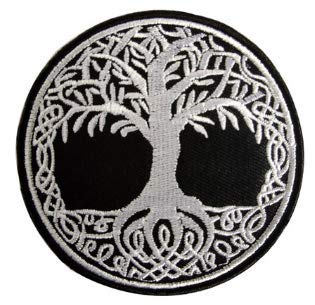 Yggdrasil The Tree of Life in Norse Tactical Morale Military Embroidered Patch (color2)