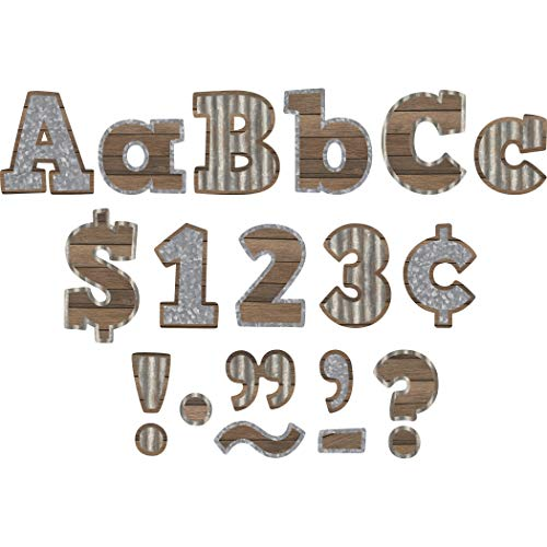 """Teacher Created Resources Home Sweet Classroom Bold Block 4"""" Letters Combo Pack (TCR8826)"""