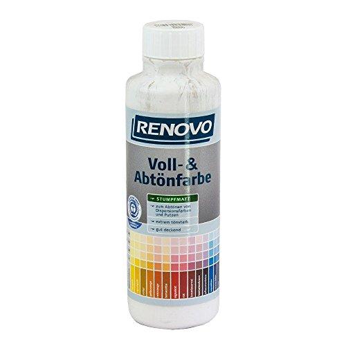 Voll- und Abtoenfarbe Farbe 500 ml Weiss 0095 Renovo