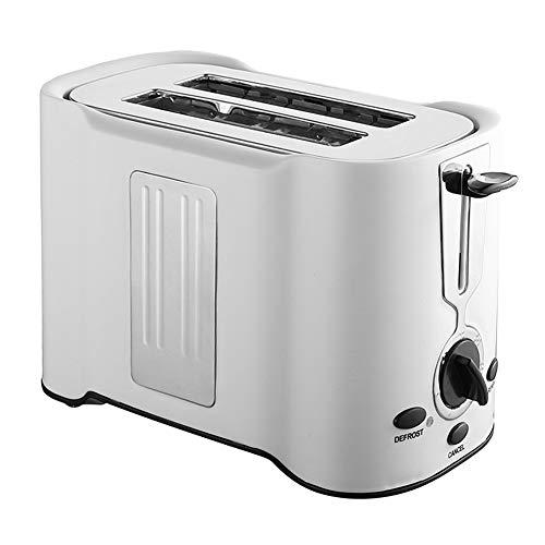 Moozic Tostadora Automática Ranura Ancha 3 en 1 - Tostadora Pan Vintage Inoxidable, 850W, Tostadora de Pan con Función de Descongelar y Calentamiento