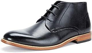 Cestfini Desert Chukka Boots for Men - Men's Genuine Leather Shoes Dress Boots, Men Oxford Ankle Boots