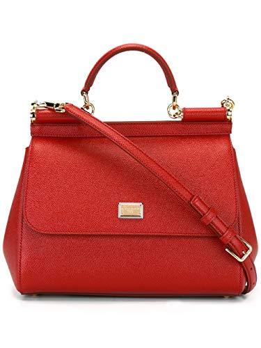 Luxury Fashion | Dolce E Gabbana Donna BB6002A100180303 Rosso Pelle...