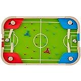 Dlcvko Mini Juego de Pinball de Mesa, Mini Juego de Bolos de Mesa clásico, máquina de Mesa de Madera, Mini Juegos de Madera para niños y Adultos