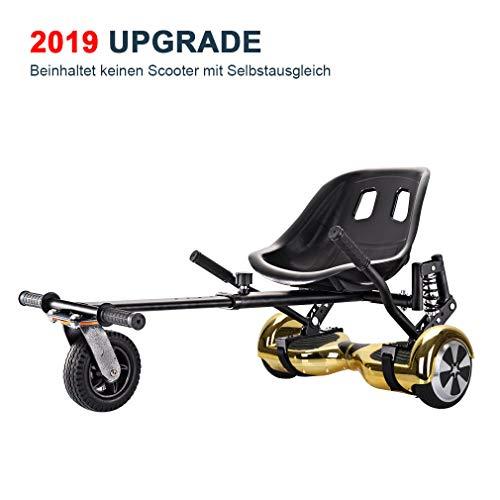 GiroSmart HoverKart Go Kart Sitzscooter Erweiterung für 6, 5-10 Zoll Self Balance Scooter EINWEG (NEWA6)