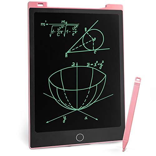 Richgv LCD-Schreibtablett mit Eingabestift, 30,5 cm (11 Zoll), magnetisches Zeichenbrett, elektronischer Grafikblock für Schule, Büro, Notizen, Zuhause, Kühlschrank, to-Do-Liste (11 Zoll, Rosa1)
