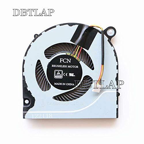 DBTLAP Cooling Lüfter Kompatibel für Acer Predator Helios 300 G3-571 Laptop CPU Cooling Lüfter DFS541105FC0T FJN1