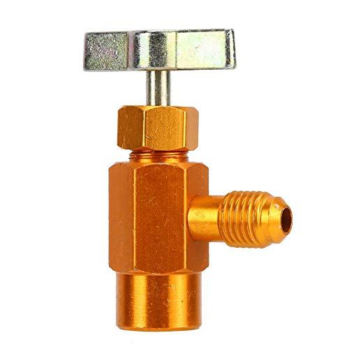 Flessenopener Klep Koelmiddel Dispenser Tool Hoge Nauwkeurigheid 1/4 SAE draad voor Koelvloeistof Flessen 1/2ACME TT1214 1/2ACME TT1214