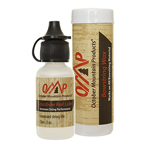 October Mountain Products Rail Lube & Wax Combo