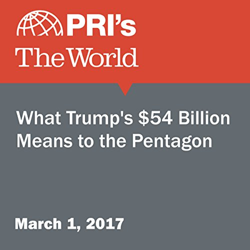 What Trump's $54 Billion Means to the Pentagon audiobook cover art