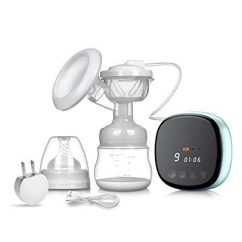 Best Bargain CNLG Intelligent Electric Breast Pump Mute Rechargeable Portable Milking Machine Matern...