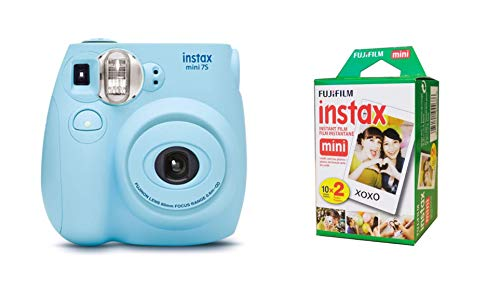 Fujifilm Instax Mini 7S Seafoam Green Instant Film Camera (Renewed)