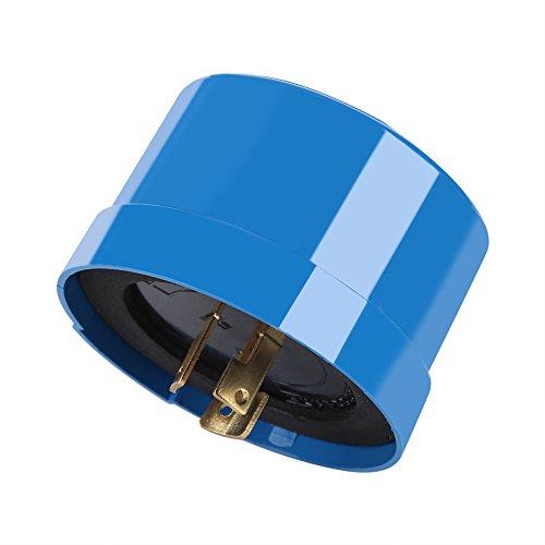 Fdit lichtsensor automatische aan/uit waterdichte foto-elektrische schakelaar voor tuin in buitenverlichting