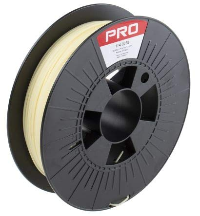 RS PRO 1.75mm Gold 3D Printer Filament, 500g