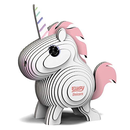 Eugy EG-14 Créatures Eco 3D-Puzzle – Einhorn