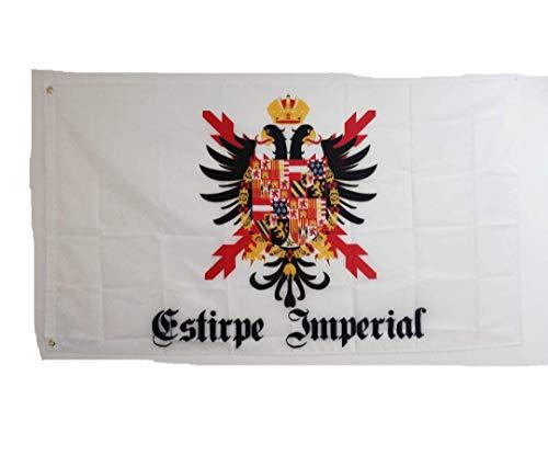 Estirpe Imperial Bandera Cruz de Borgoña Carlos V 150x90cm