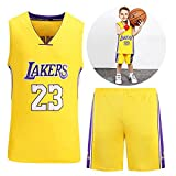 Th-some NBA Maillots de Baloncesto para Niños - Camisetas de Baloncesto NBA Bulls Jordan...