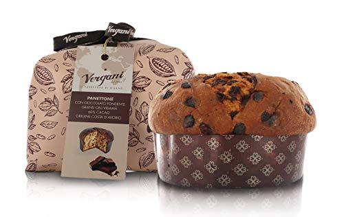 Vergani, Panettone Dark Chocolate 60% Grand Cru Vidamà - 750 gr.