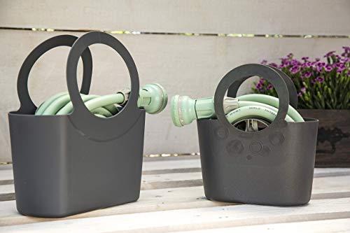 Idroeasy Magic Soft Smart 30 meter – de uittrekbare tuinslang, die tot drie keer zijn oorspronkelijke lengte kan uitrekken.