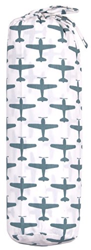TAFTAN HB-68 hoeslaken vliegtuig, blauw