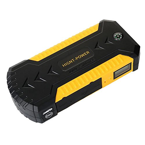 MIAO Selbstsprungs-Starter - tragbarer 12V / 1A Not-Starter, Auto 88000mAh Hochleistungs-beweglicher Strom / Akku / LED-Taschenlampe