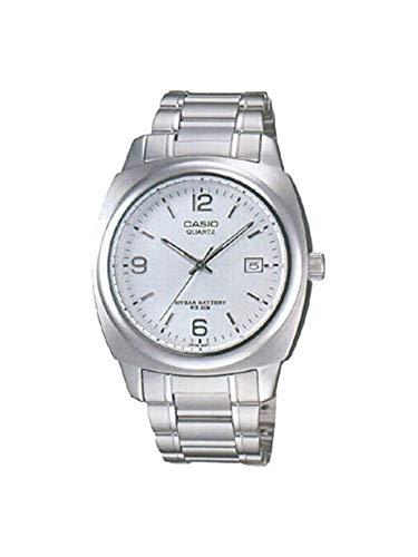 Casio # mtp1220a-7a Fashion Fecha analógica de Cuarzo Reloj de Hombre de Metal