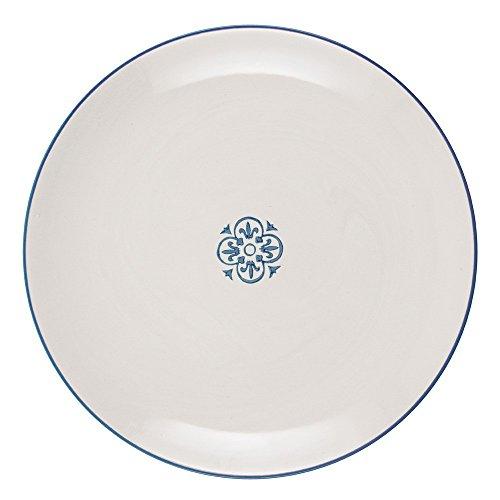 IB Laursen Casablanca blau Teller groß rund