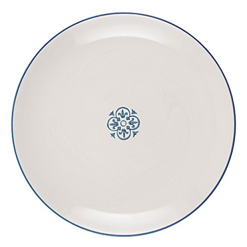 IB Laursen Casablanca Assiette ronde Bleu