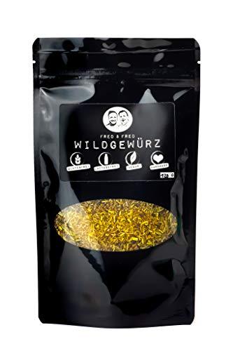 Fred & Fred Spices® Gewürzmischungen - Wildgewürzgewürzmischung gemahlen - Gewürz für Wild 120g Beutel - Wildgewürz für Reh, Fuchs, Wildschwein & mehr
